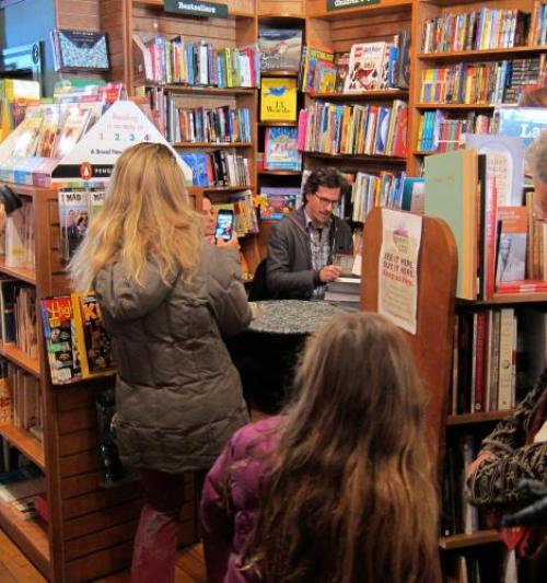 Brian Selznick booksigning